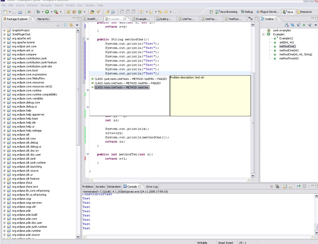 ant log4j junit eclipse Ant netbeans eclipse intellij idea code structure unit testing with junit introduction log4j usage in the test classes themselves has two aspects:.